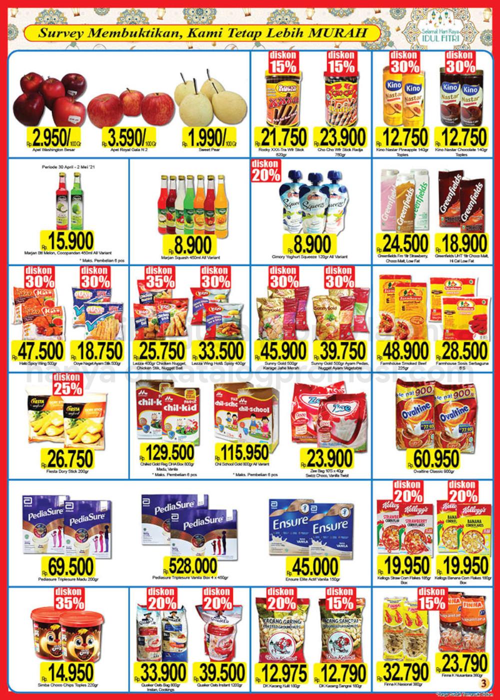 Katalog Promo NAGA SWALAYAN Terbaru Periode 25 April - 16 Mei 2021
