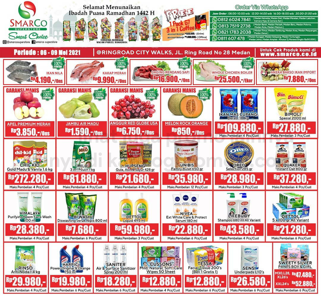 Promo SmarCo Superstore Katalog Weekend JSM periode 06-09 Mei 2021