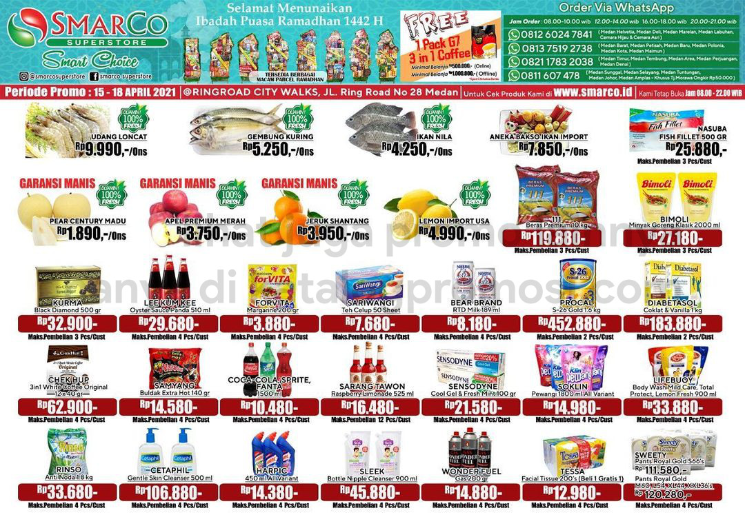 Promo SmarCo Superstore Katalog Weekend JSM periode 15-18 April 2021