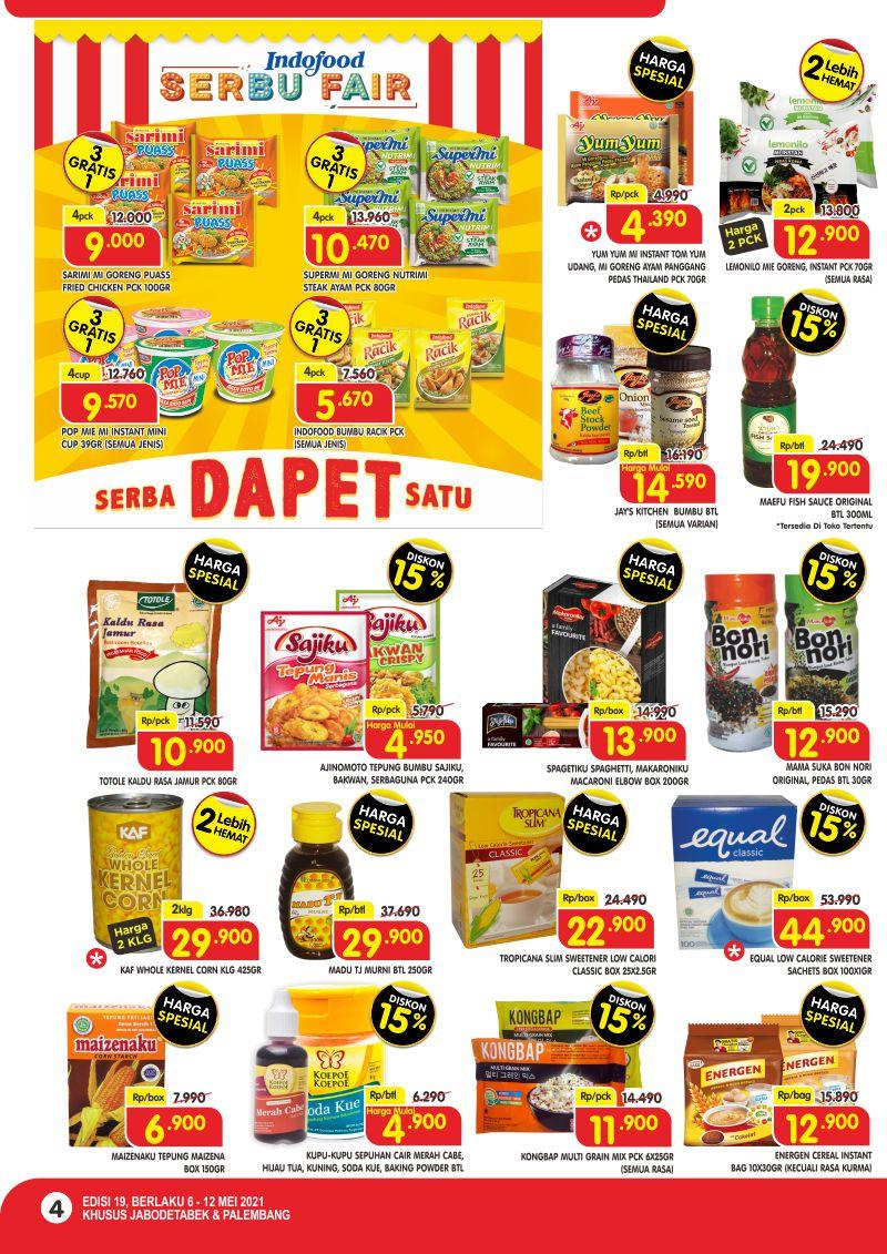 Promo Superindo Katalog Belanja Mingguan periode 06-12 Mei 2021