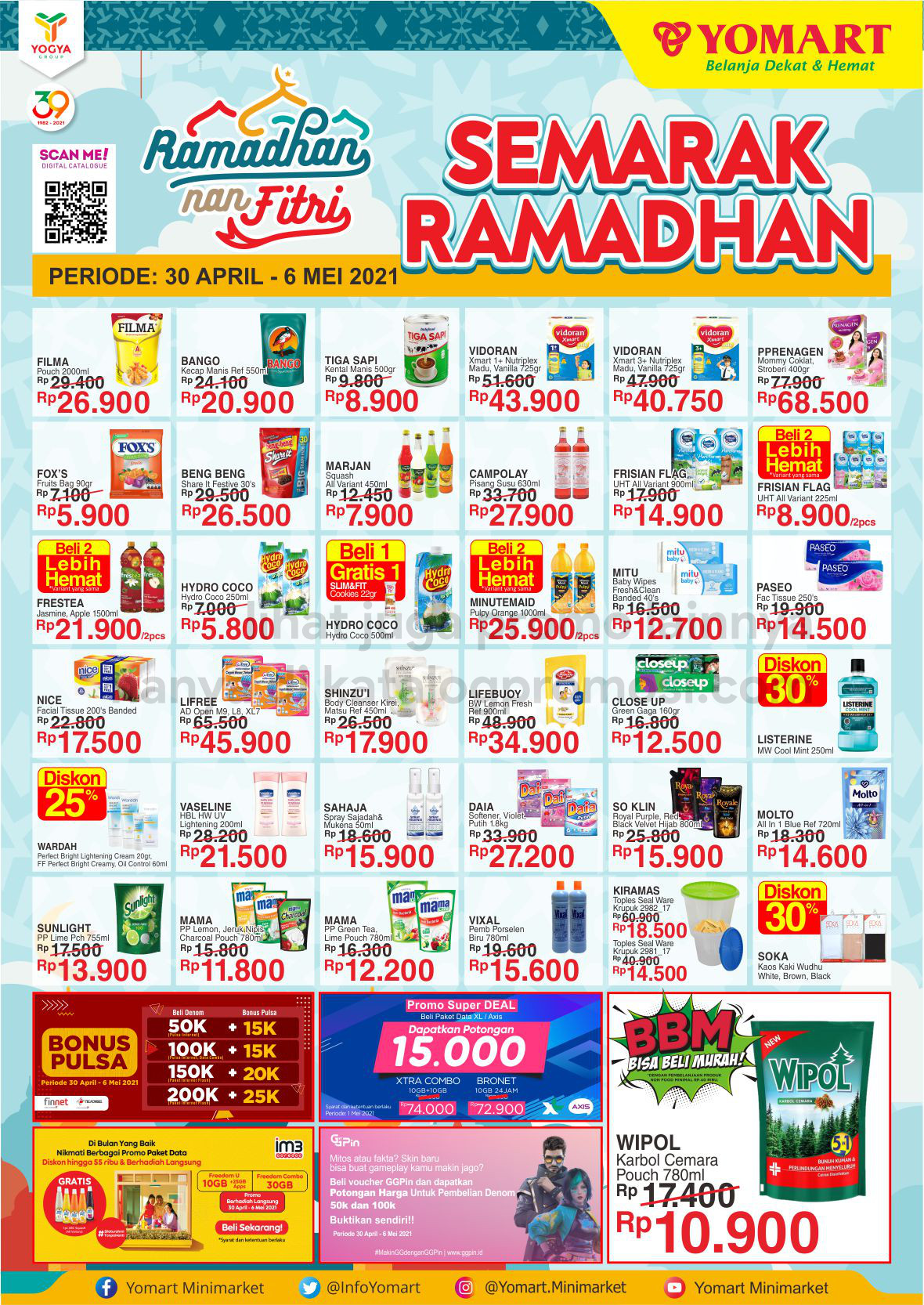 Promo Yomart Katalog Weekend Promo periode 30 April - 06 Mei 2021