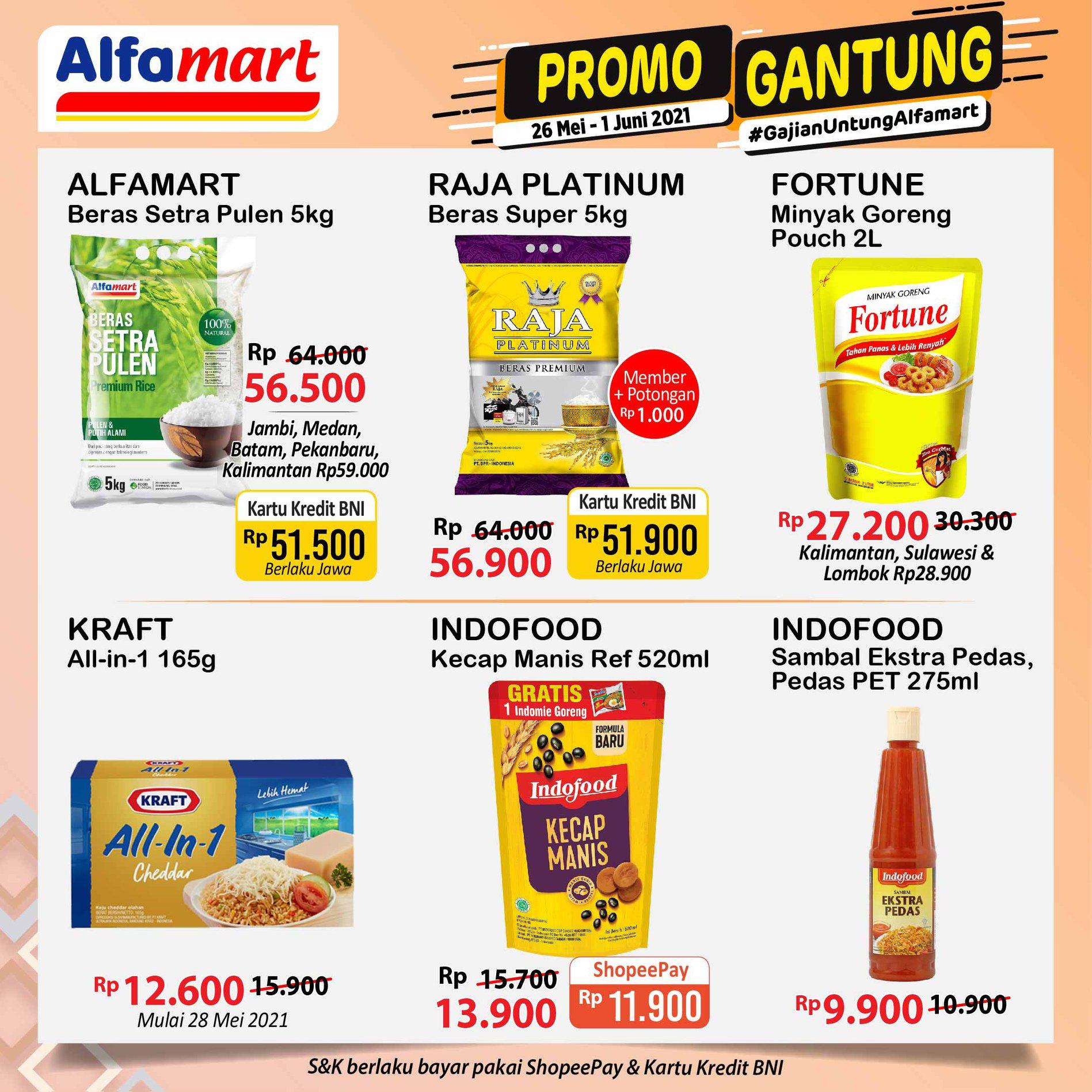 Promo ALFAMART JSM Weekend periode 28-30 Mei 2021