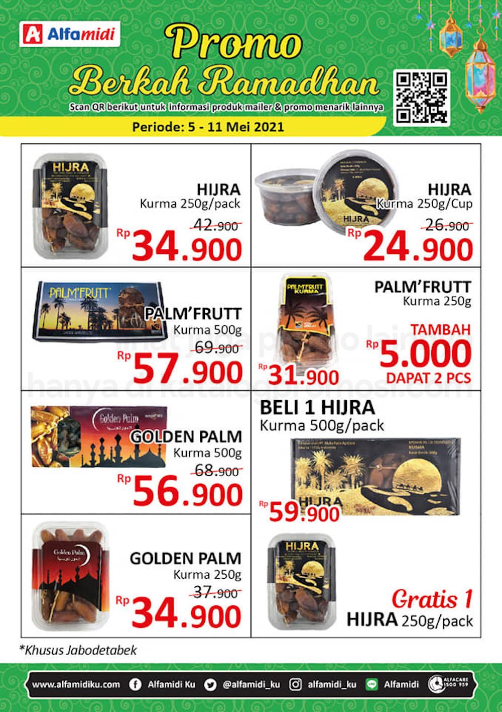 Promo ALFAMIDI JSM Weekend periode 07-09 Mei 2021