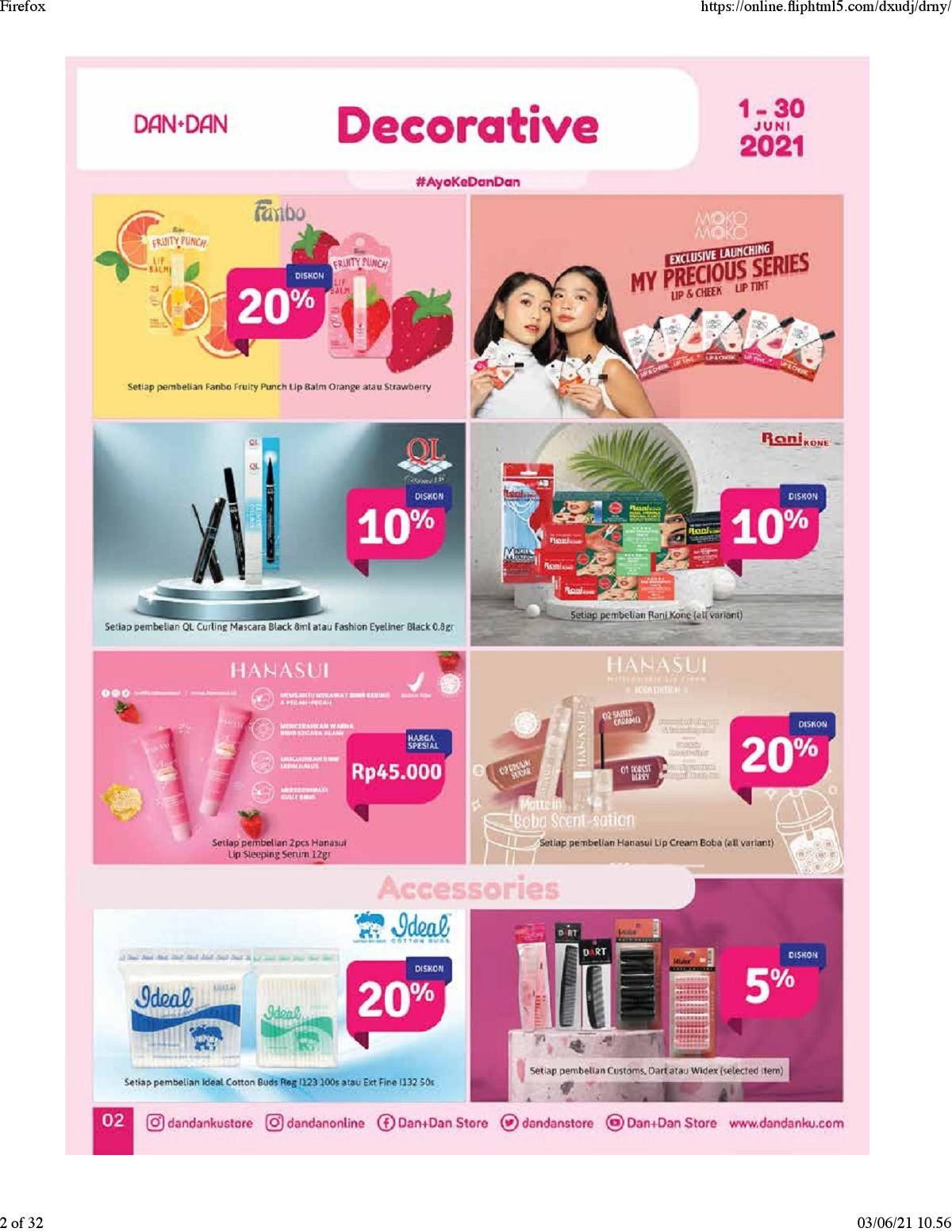 Katalog Promo DAN+DAN TERBARU periode JUNI 2021