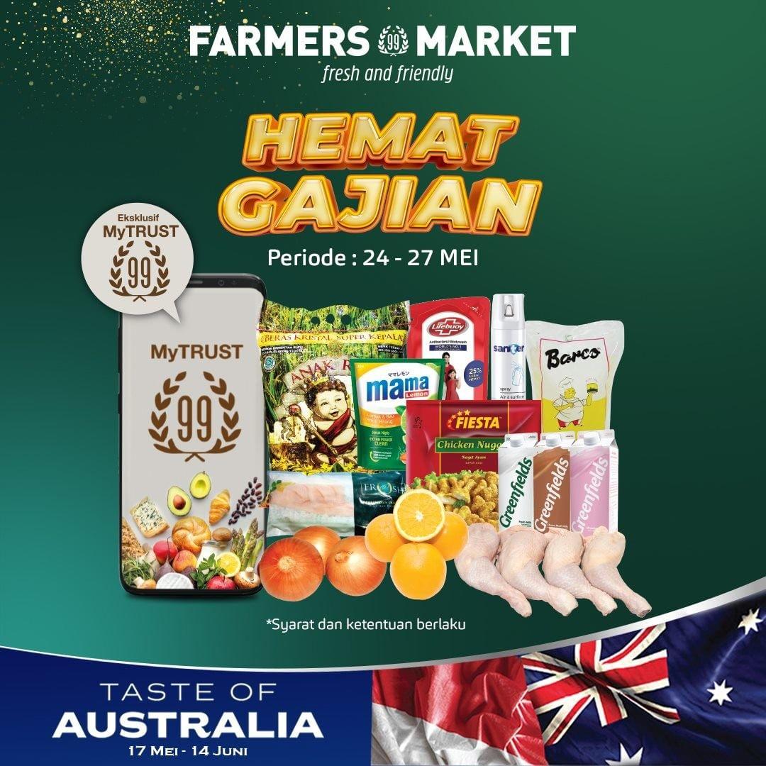 Promo Farmers Market HEMAT GAJIAN periode 24-27 Mei 2021