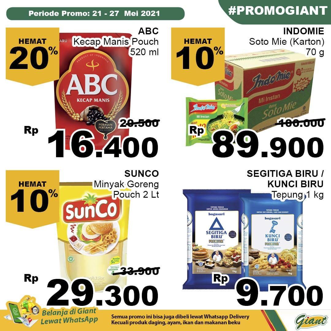 Promo Giant JSM Katalog Weekend periode 21-27 Mei 2021