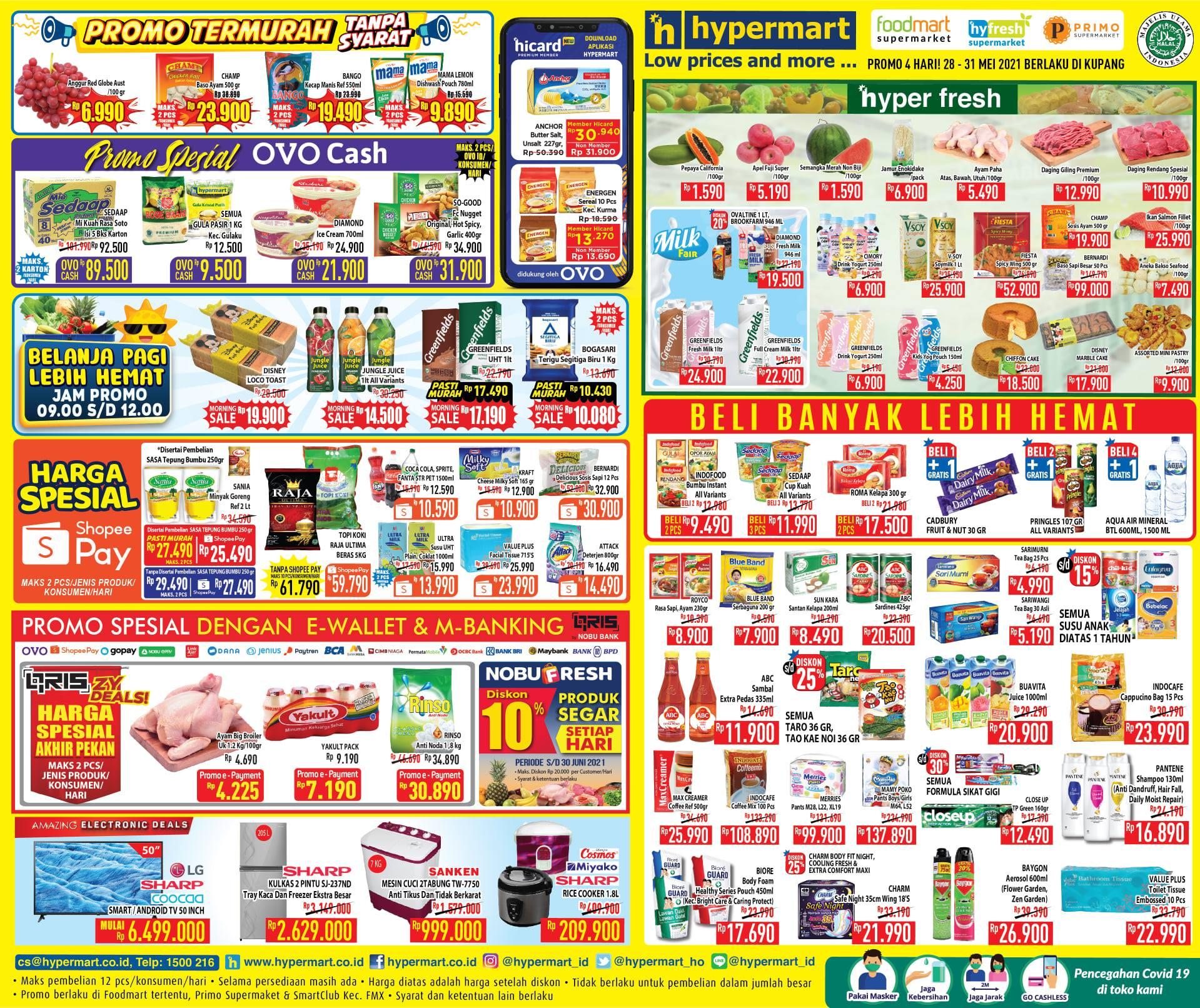Promo Hypermart JSM Katalog Weekend periode 28-31 Mei 2021