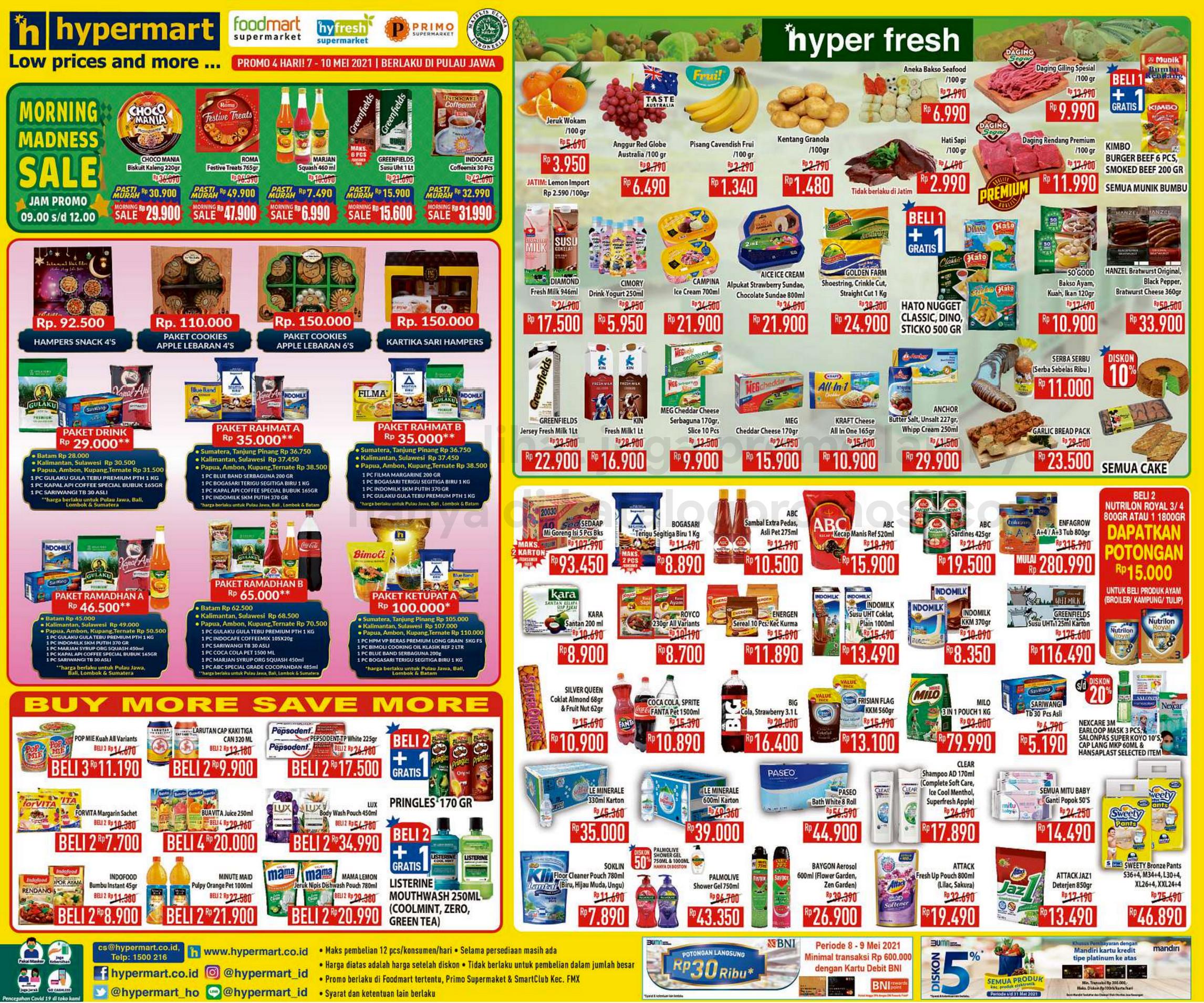 Promo Hypermart JSM Katalog Weekend periode 07-10 Mei 2021