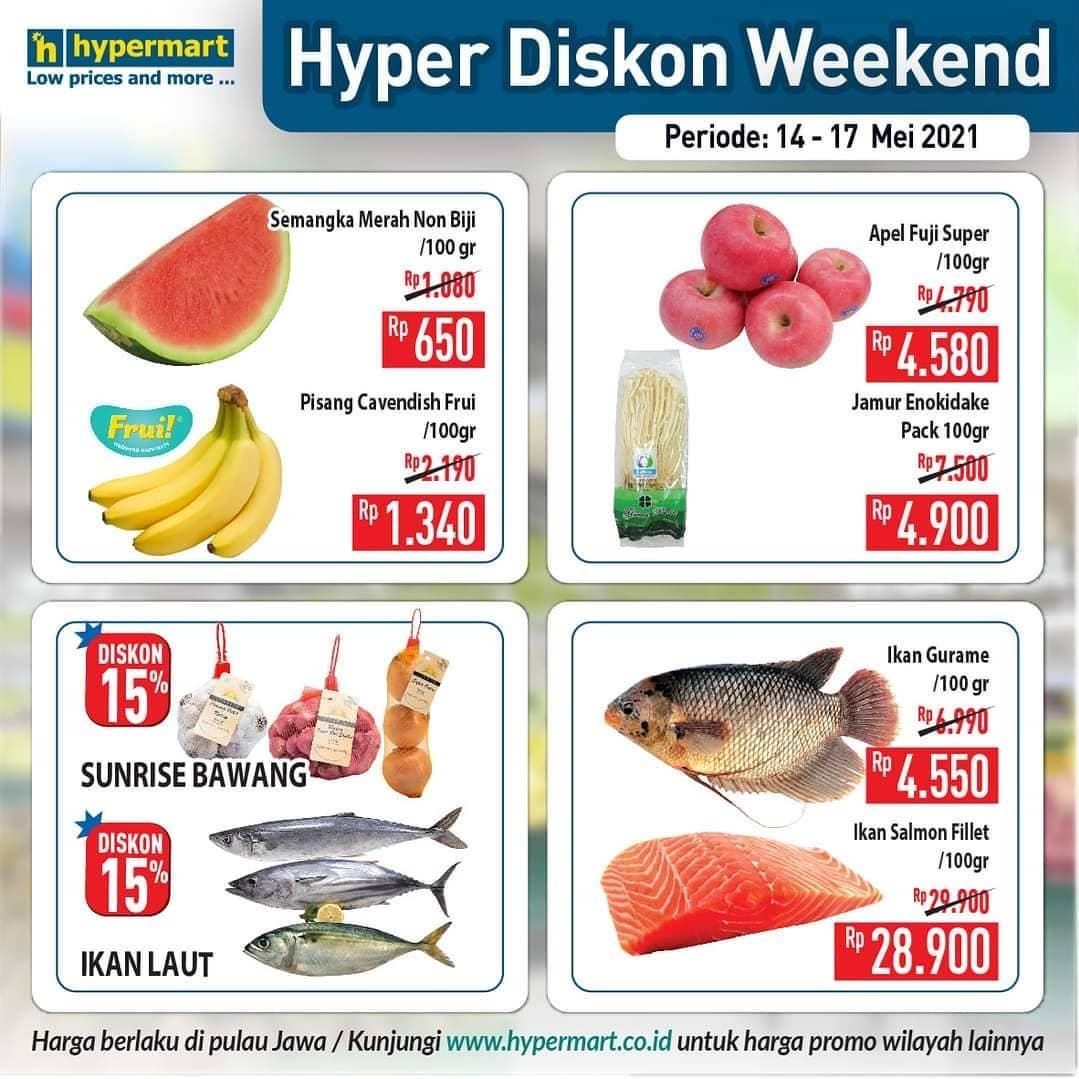 Promo Hypermart JSM Katalog Weekend periode 14-17 Mei 2021