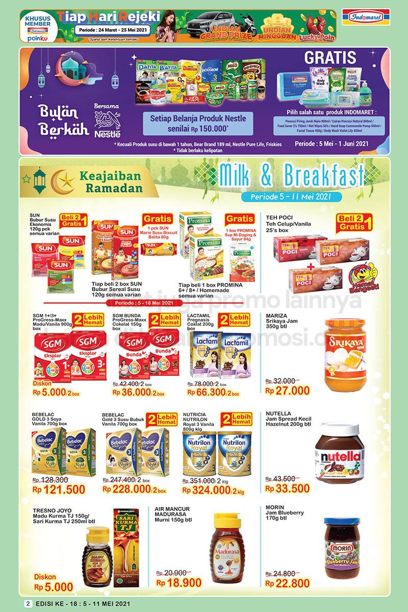 Promo INDOMARET Katalog SUPER HEMAT | 05-11 Mei 2021
