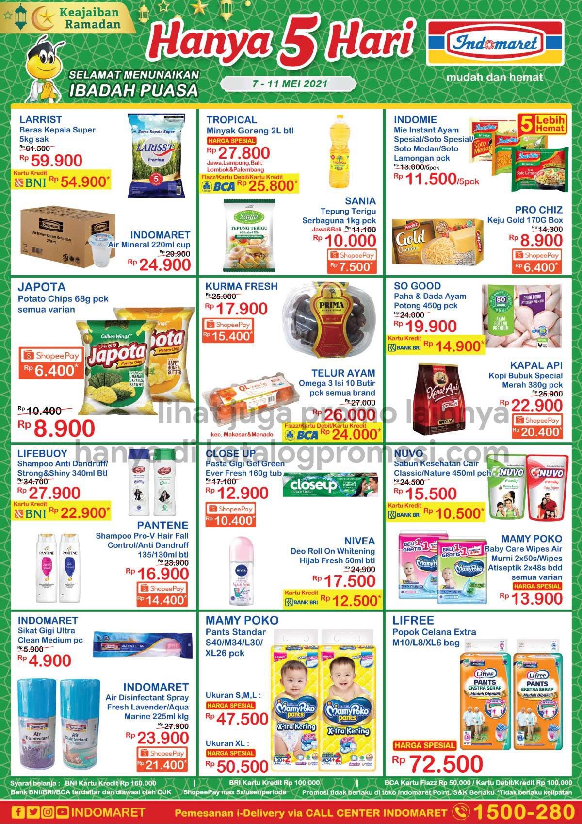 Promo INDOMARET JSM Katalog Weekend periode 07-11 Mei 2021