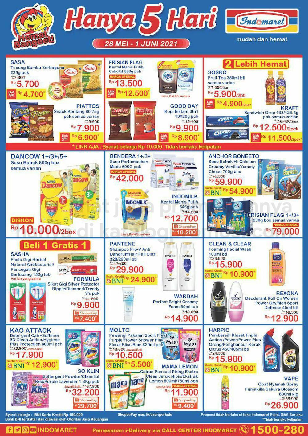 Promo INDOMARET JSM Katalog Weekend periode 28 Mei - 01 Juni 2021
