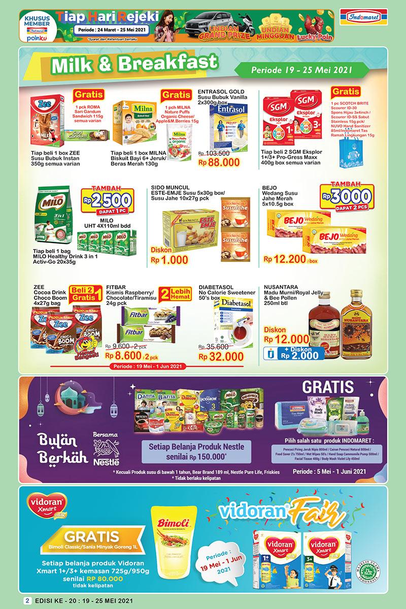 Promo INDOMARET Katalog SUPER HEMAT   19-25 Mei 2021