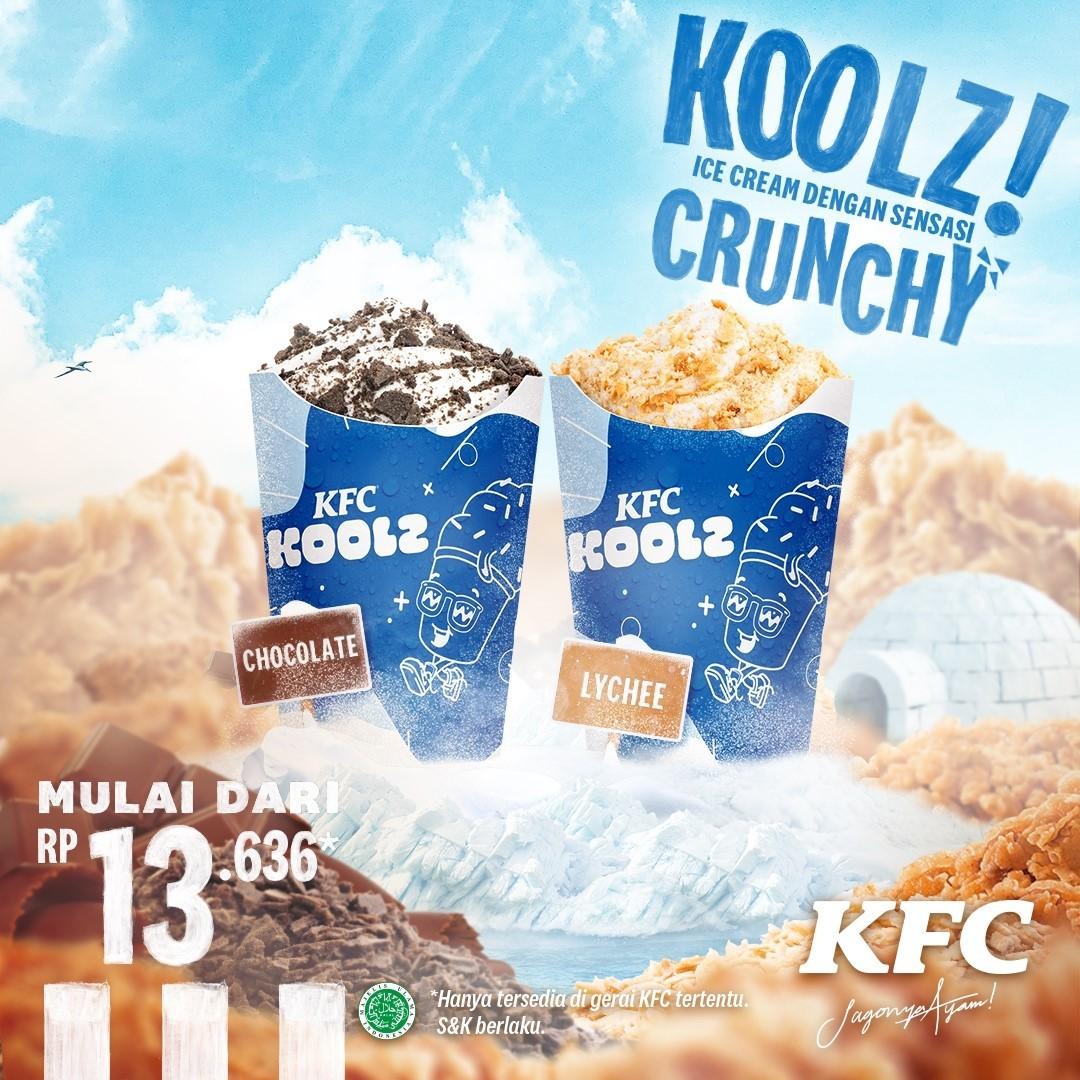 BARU! KFC KOOLZ dari KFC INDONESIA - Harga mulai Rp. 13.636
