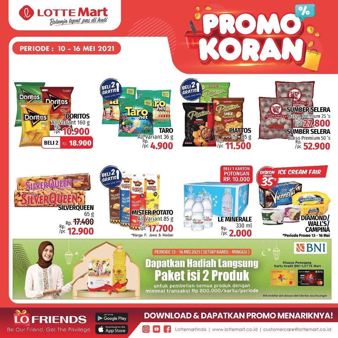 Katalog Promo LOTTEMART RETAIL khusus Weekend periode 10-16 Mei 2021