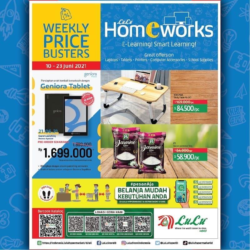 Katalog LuLu Hypermarket & Department Store HomEWorks periode 10-23 Juni 2021