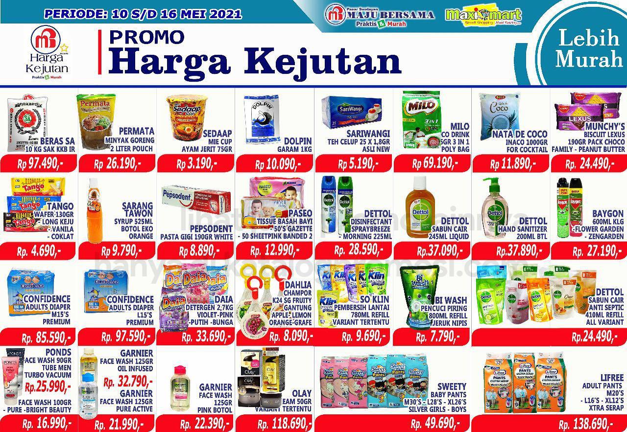 Katalog Maximart Promo Mingguan periode 10-16 Mei 2021