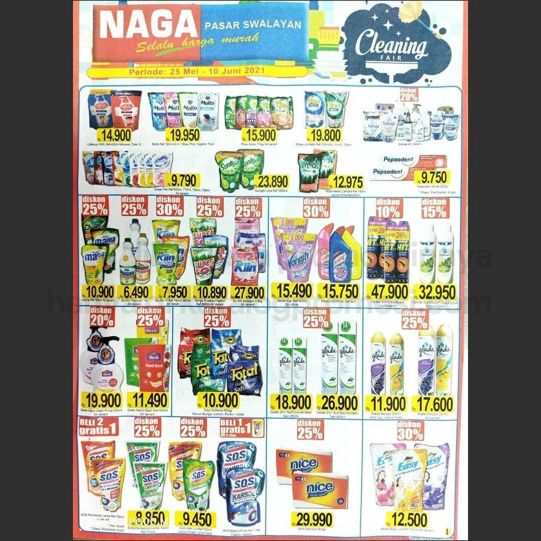 Katalog Promo NAGA SWALAYAN Terbaru Periode 25 Mei – 10 Juni 2021