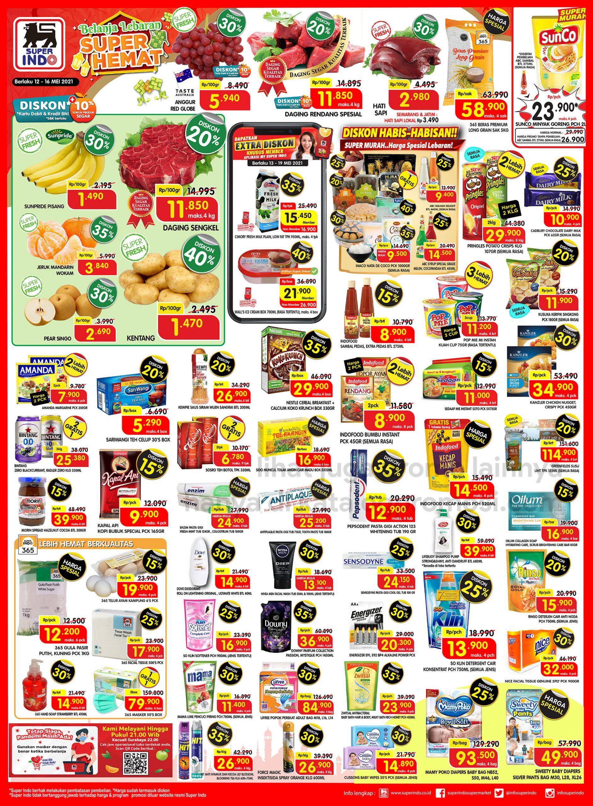 Promo Superindo JSM Katalog WEEKEND 12-16 Mei 2021