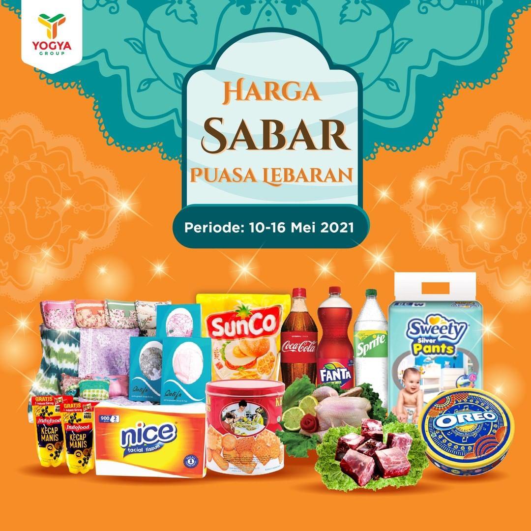 Katalog TOSERBA YOGYA WEEKDAY Promo HARGA SABAR periode 10-16 Mei 2021