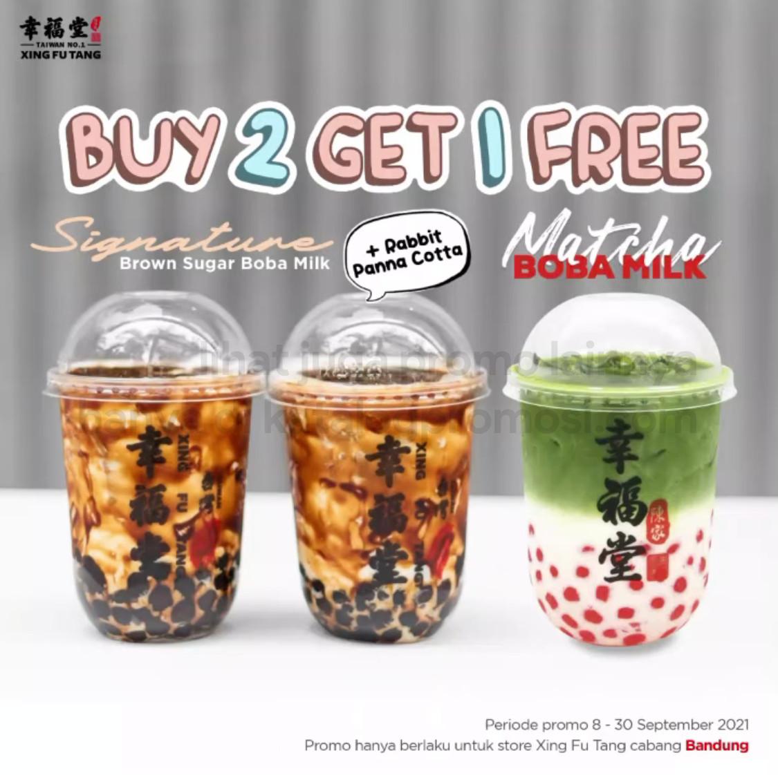 Promo XING FU TANG BELI 2 GRATIS 1 khusus outlet area BANDUNG