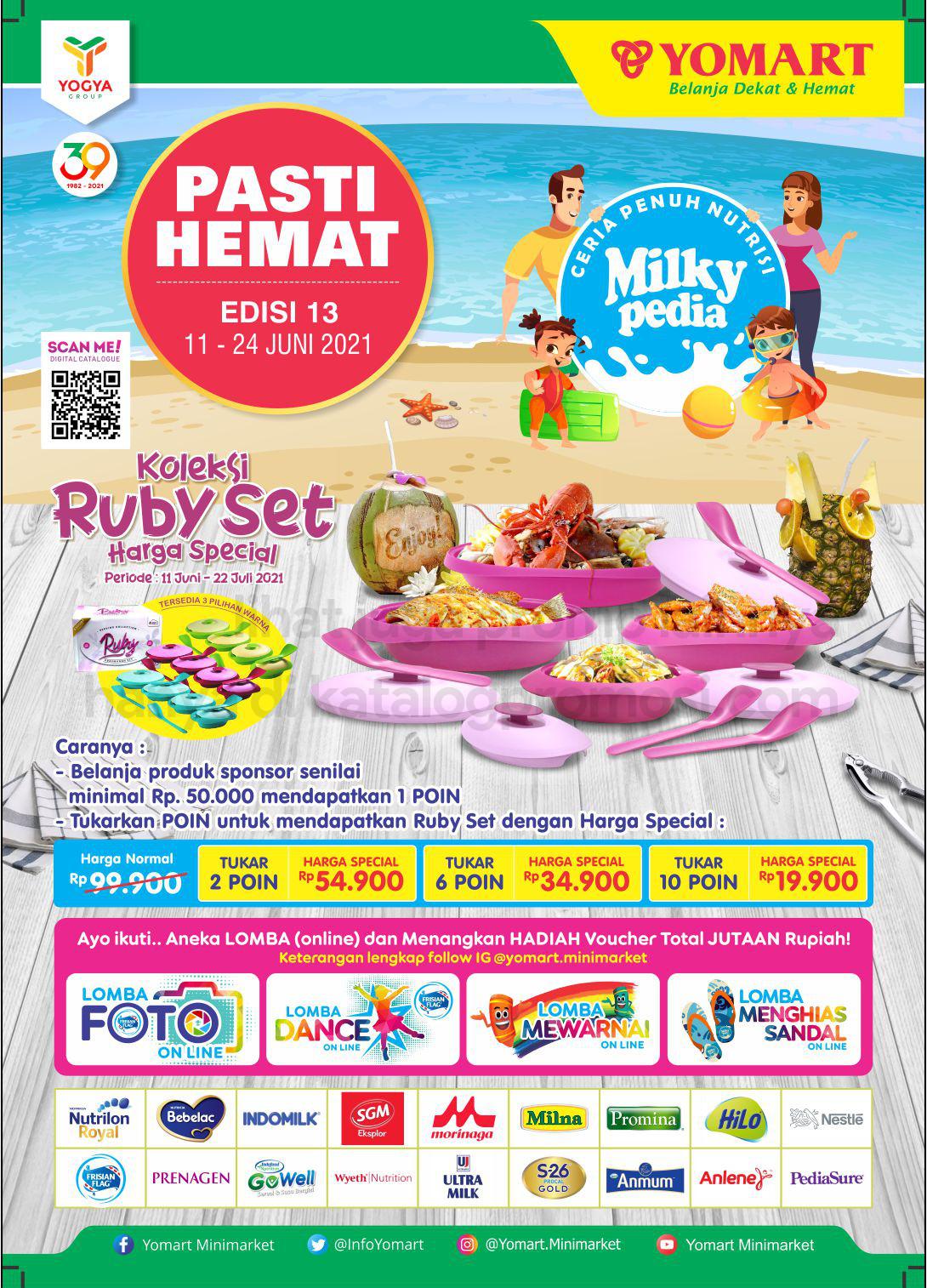 Katalog Yomart Minimarket Promo Mingguan periode 11-24 Juni 2021