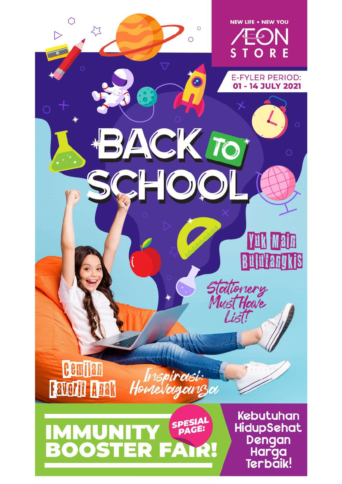 Katalog Promo Aeon Store Indonesia periode 01-14 Juli 2021