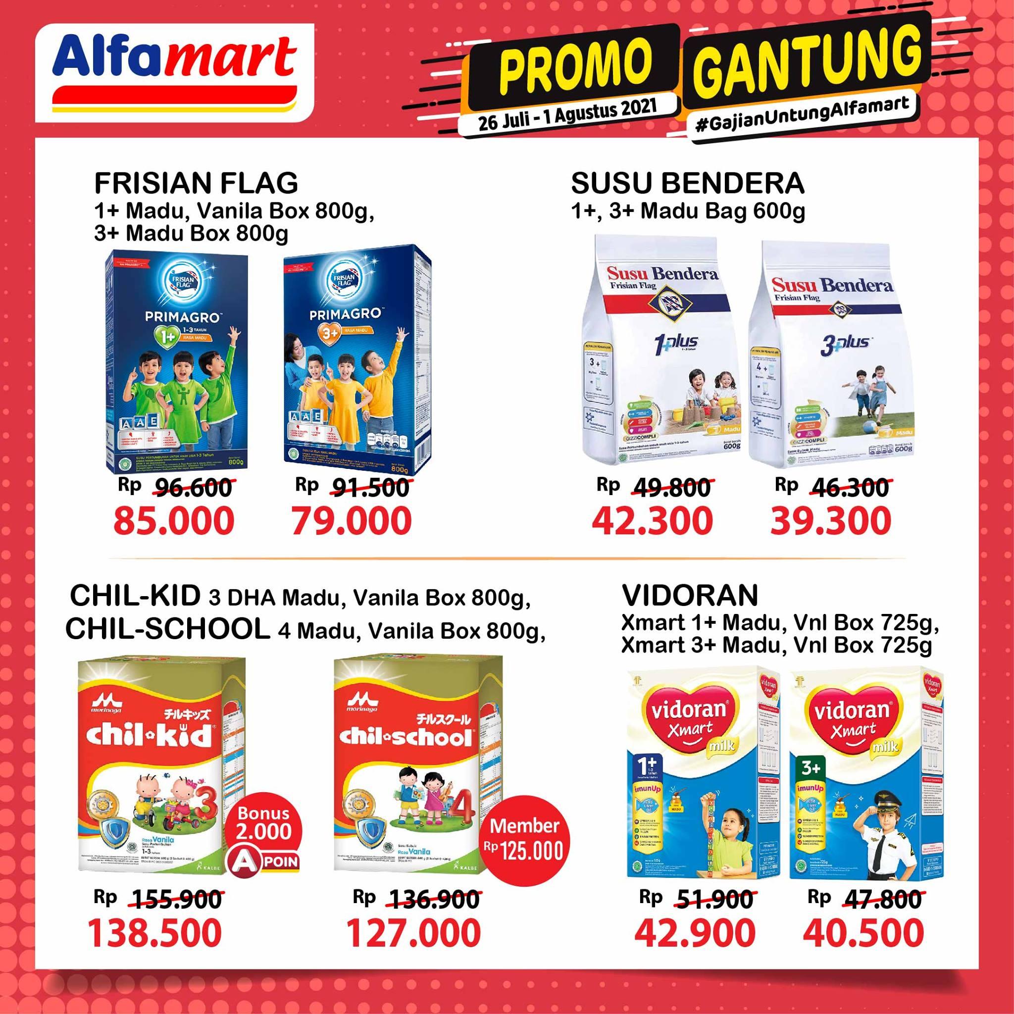 Promo GANTUNG ALFAMART / GAJIAN UNTUNG periode 26 Juli - 01 Agustus 2021
