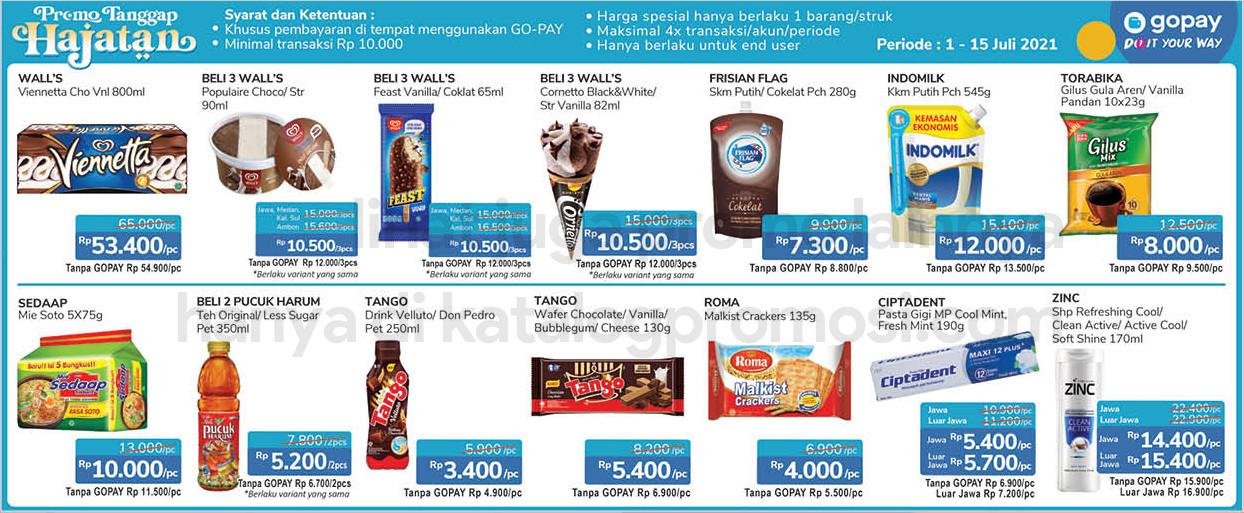 Promo Alfamidi - Gopay Hajatan   Harga Spesial untuk transaksi dengan GOPAY