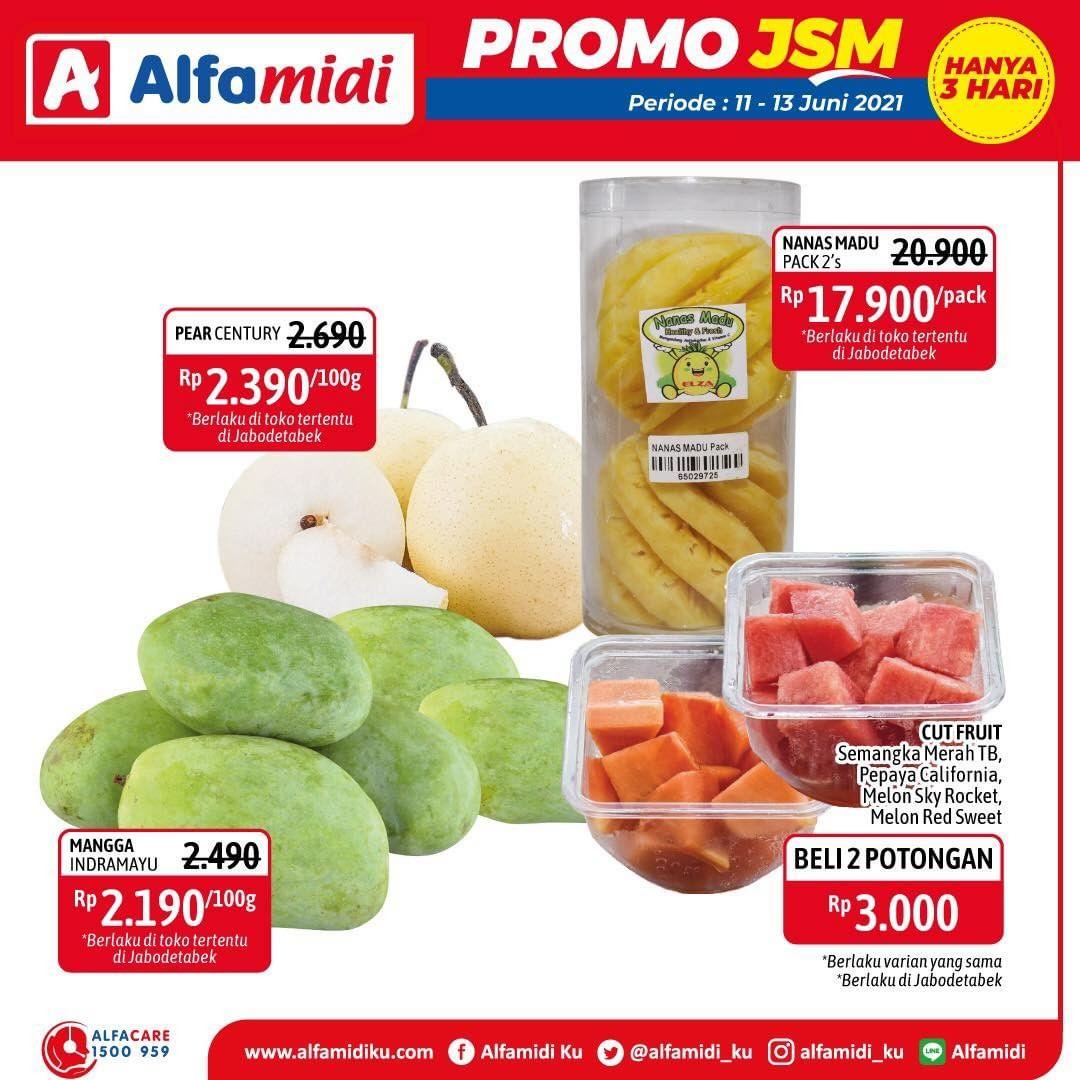 Promo ALFAMIDI JSM Weekend periode 11-13 Juni 2021