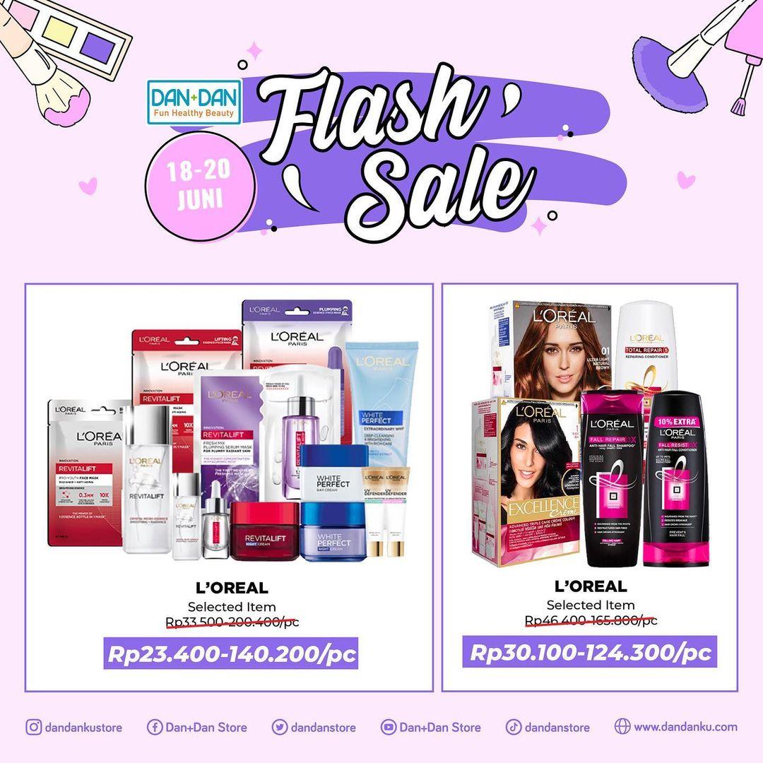 Promo DAN+DAN Weekend Flash Sale periode 18-20 Juni 2021