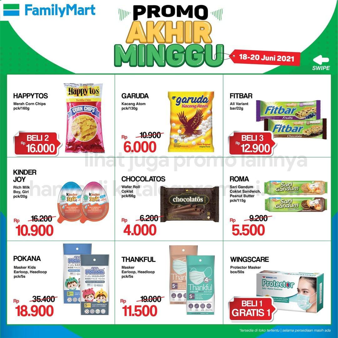 Promo FAMILYMART JSM Katalog Weekend periode 18-20 Juni 2021