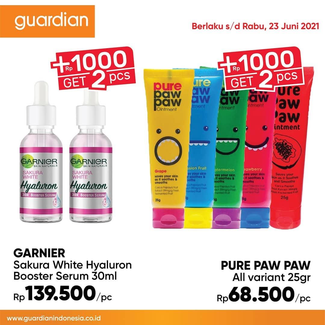 Promo GUARDIAN Katalog Mingguan periode 10-23 Juni 2021