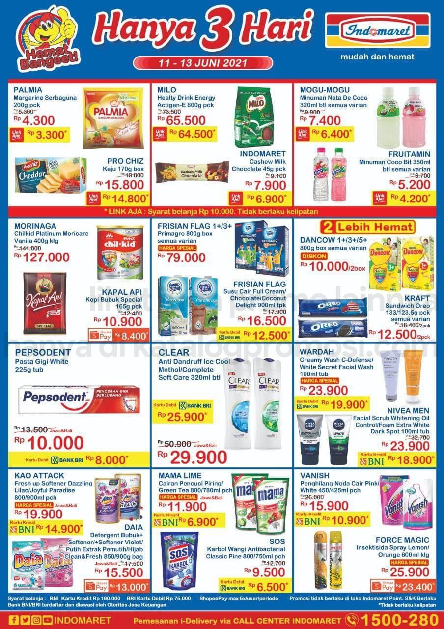Promo INDOMARET JSM Katalog Weekend periode 11-13 Juni 2021
