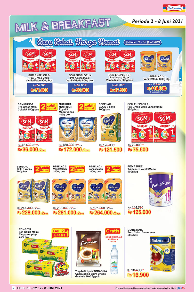 Promo INDOMARET Katalog SUPER HEMAT | 02-08 Juni 2021
