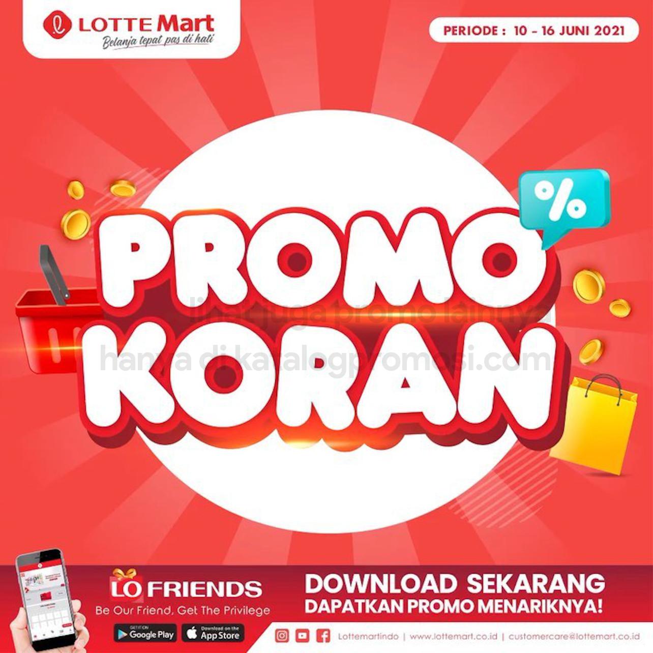Katalog Promo LOTTEMART RETAIL WEEKEND periode 10-16 Juni 2021