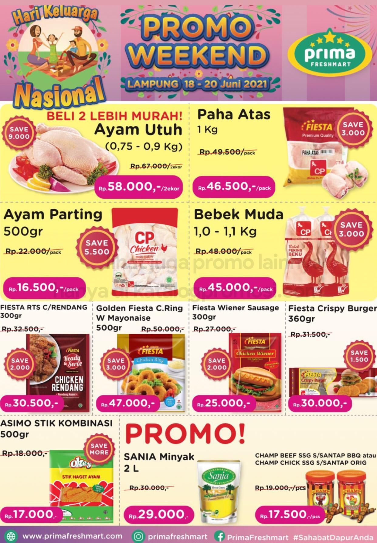 Promo Prima Freshmart Terbaru - Katalog Belanja Weekend JSM periode 11-13 Juni 2021