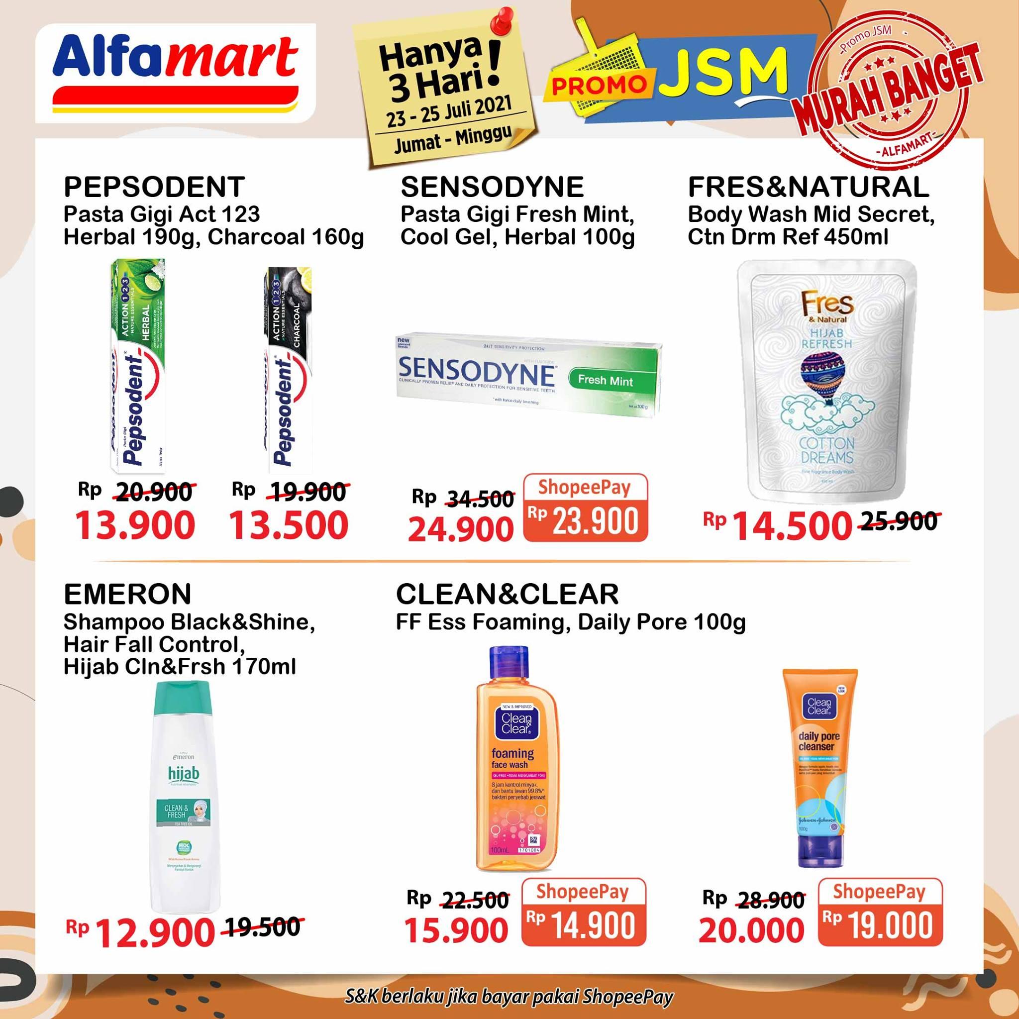 Promo ALFAMART JSM Weekend periode 23-25 Juli 2021