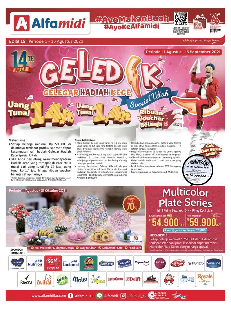 Katalog ALFAMIDI Promo Mingguan Periode 01-15 Agustus 2021