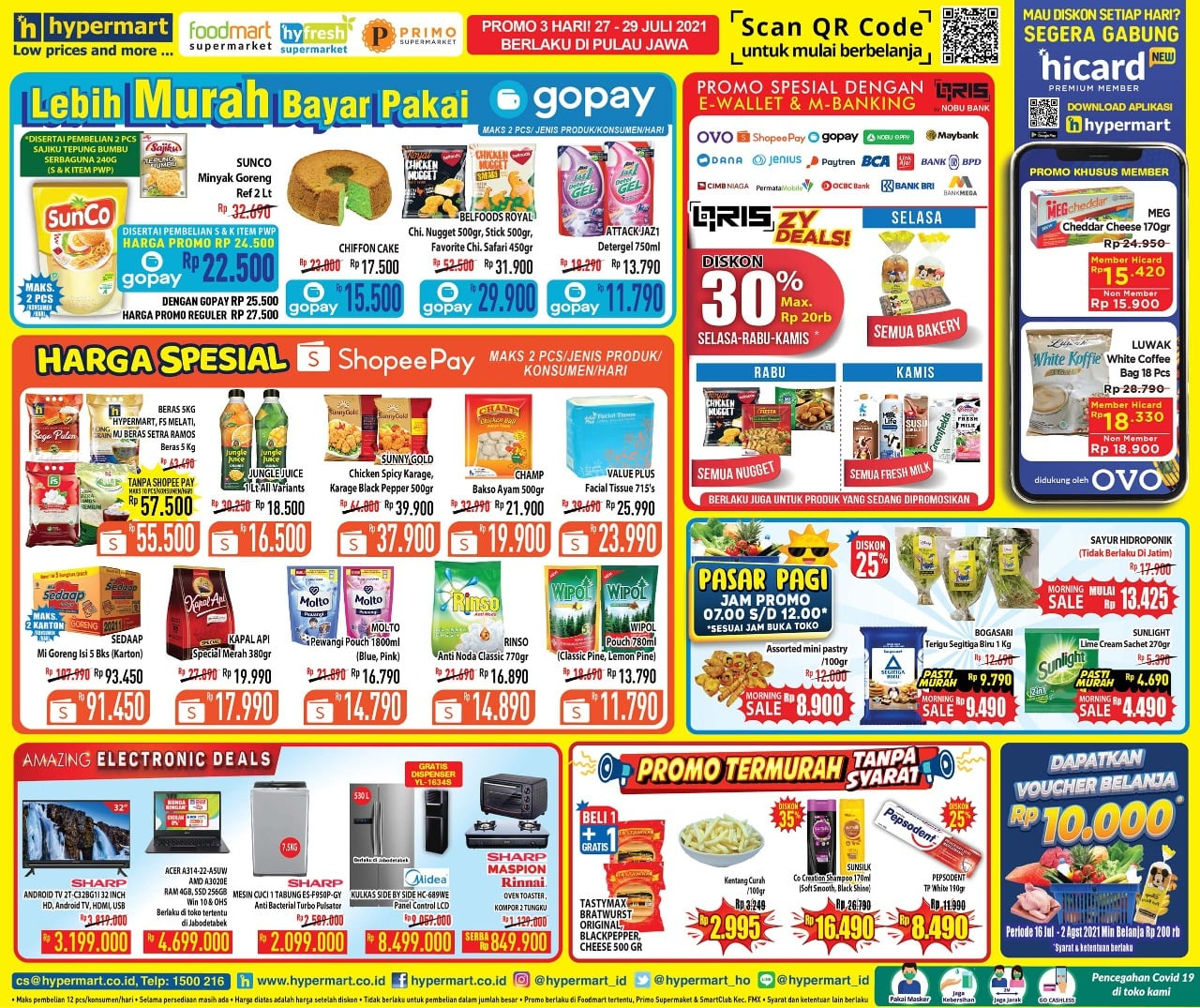 Katalog Hypermart Promo Weekday periode 27-29 Juli 2021