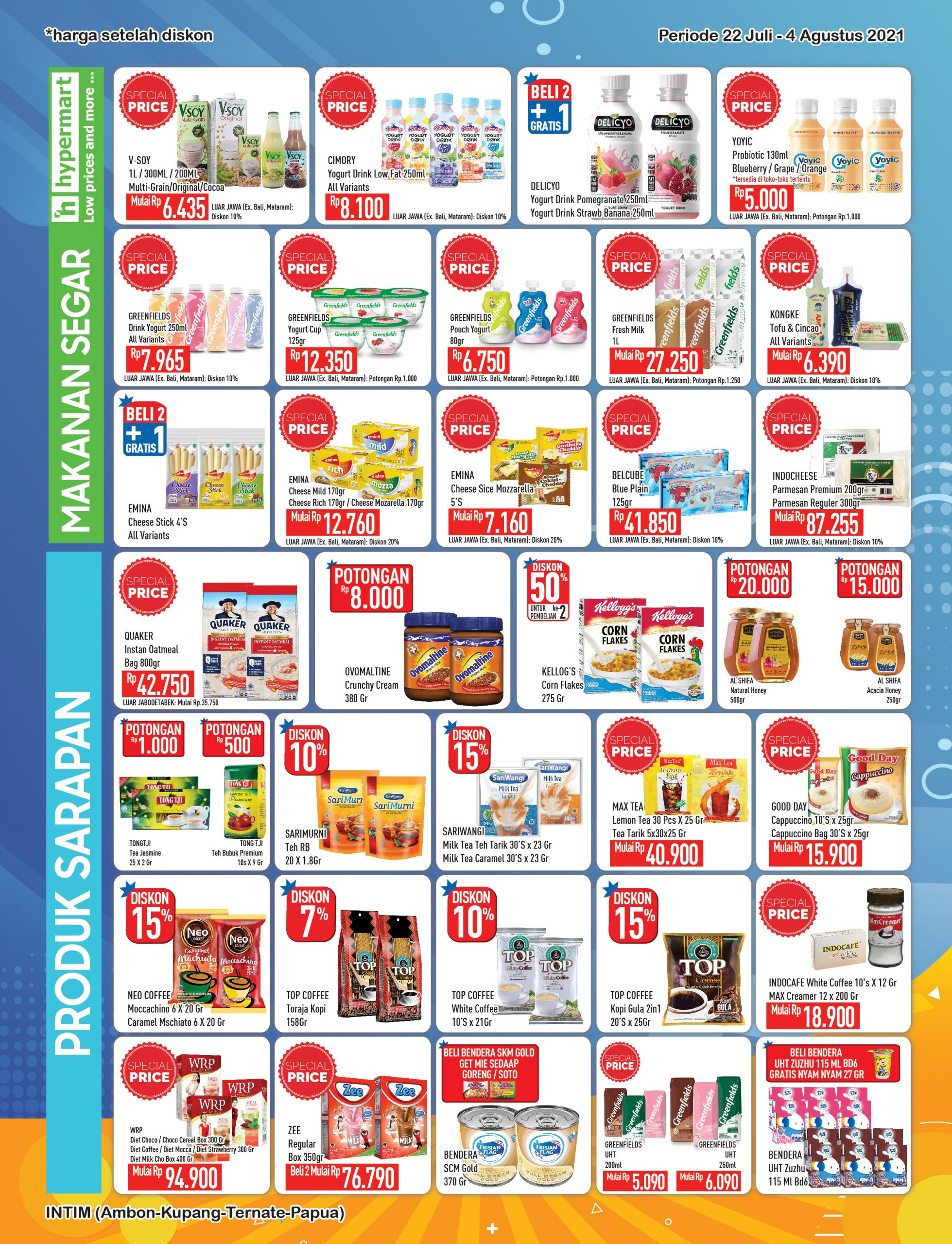 Promo Hypermart Katalog Belanja Mingguan periode 22 Juli - 04 Agustus 2021