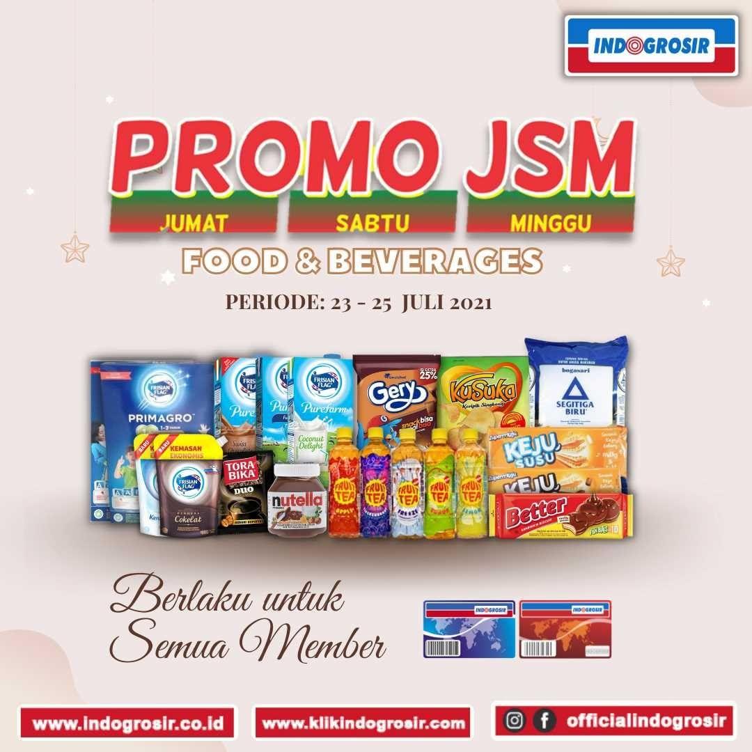 Promo JSM INDOGROSIR KATALOG WEEKEND periode 23-25 Juli 2021