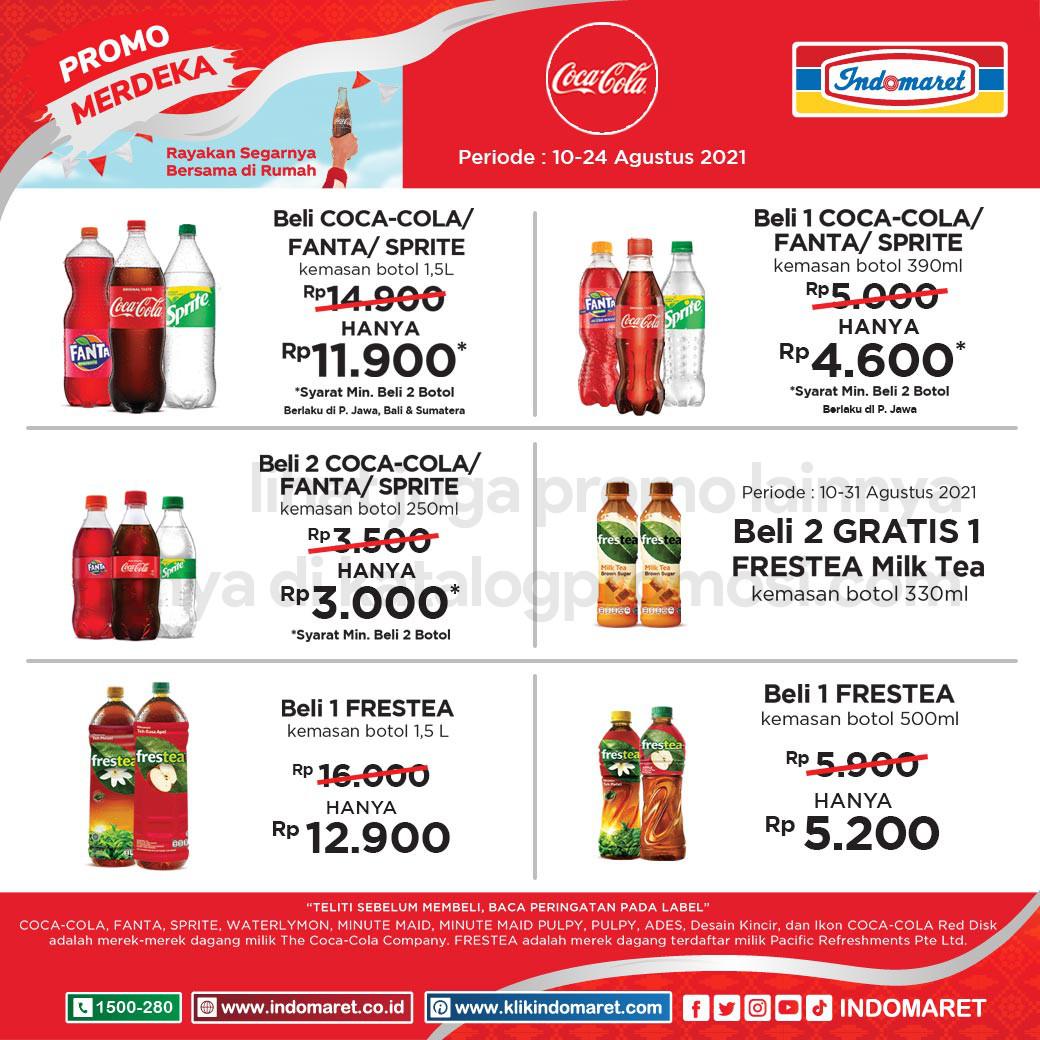 INDOMARET COCA COLA FAIR – Penawaran Spesial untuk Berbagai Produk Coca Cola Amatil