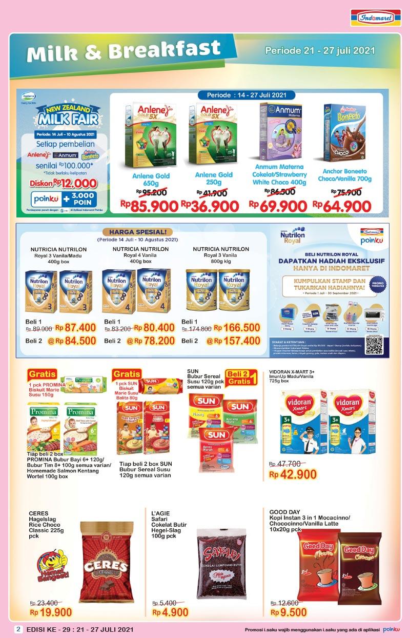 Promo INDOMARET Katalog SUPER HEMAT   21-27 Juli 2021