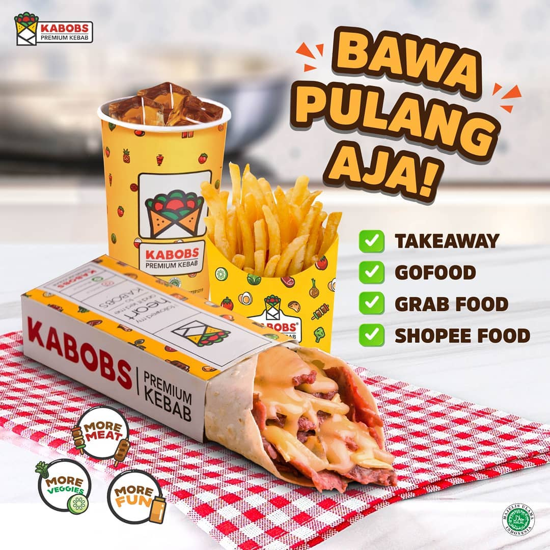 Promo KABOBS DISKON SPESIAL hingga 40RIBU khusus pemesanan DELIVERY via GOFOOD/GRABFOOD/SHOPEEFOOD