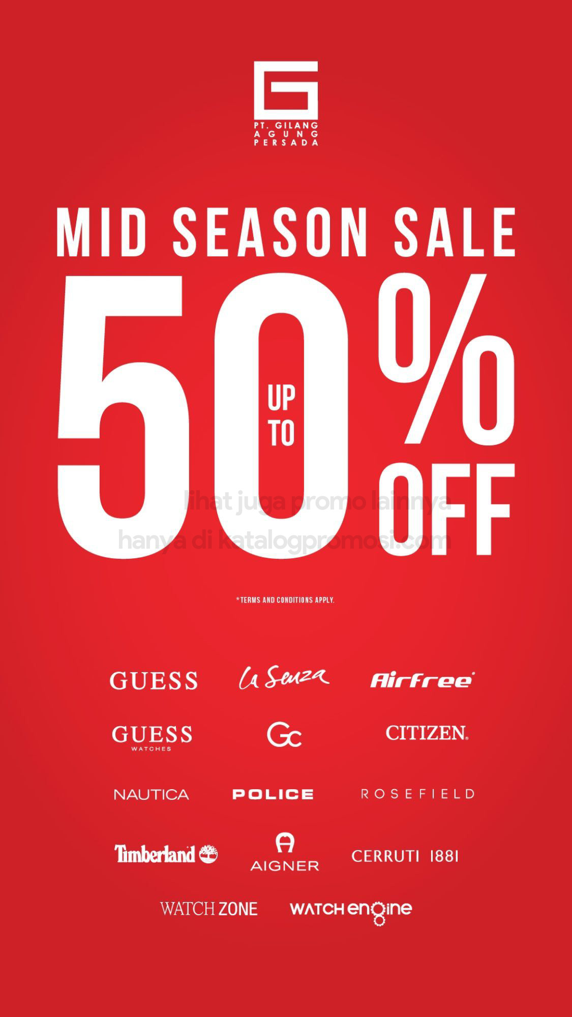 Promo LaSenza MID SEASON SALE up to 50% off