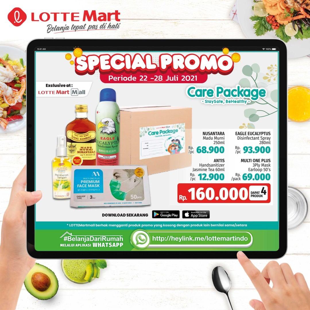 Katalog Promo LOTTEMART RETAIL WEEKEND JSM periode 22-28 Juli 2021