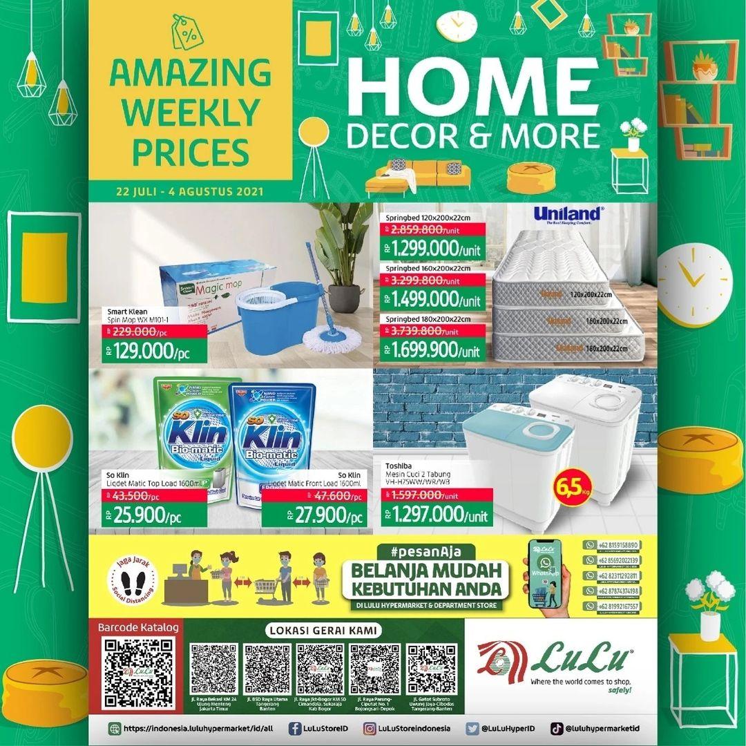 Katalog LuLu Hypermarket & Department Store HARGA MURAH periode 22 JULI - 04 AGUSTUS 2021
