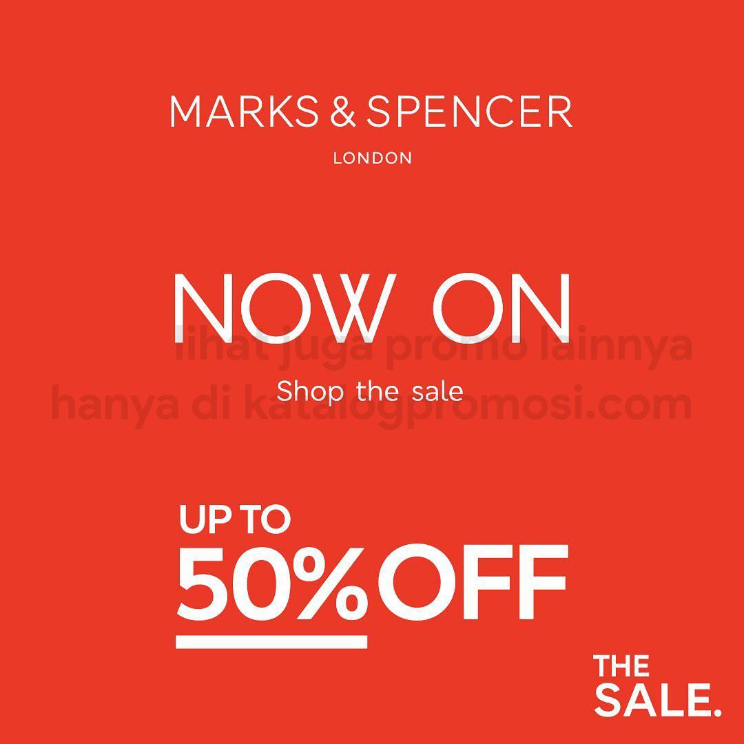 MARKS & SPENCER Promo SALE Up To 50% Off*