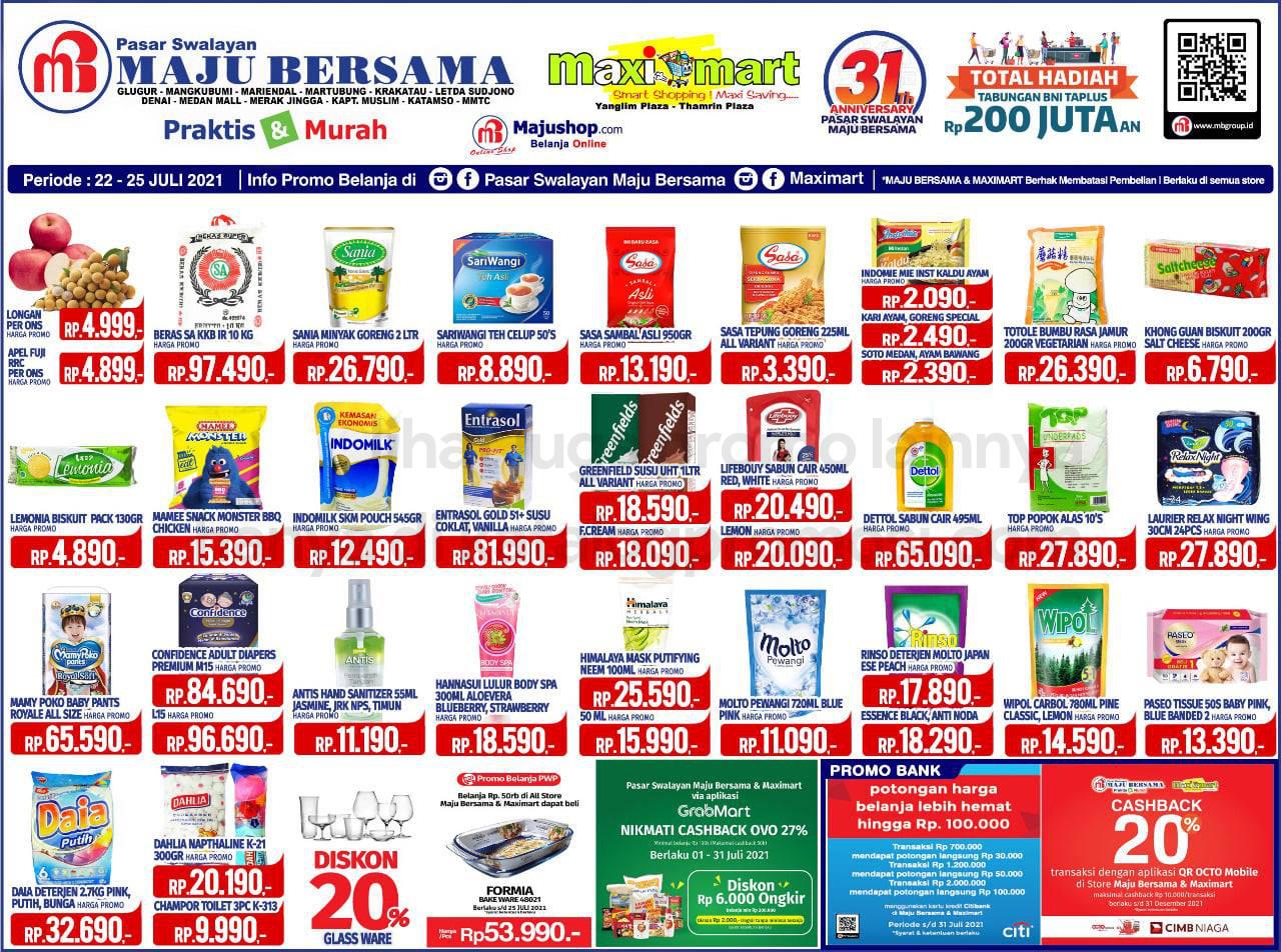 Katalog Maximart Promo Weekend Periode 22-25 Juli 2021